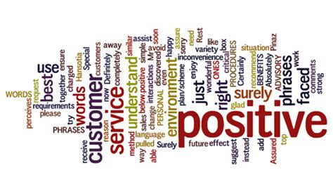 The Top 25 positive words and phrases | design practices