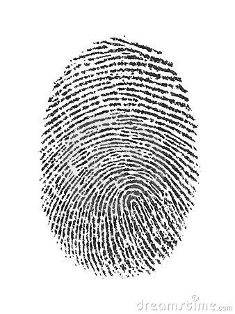 Finger Print Royalty Free Stock Images - Image: 10170219