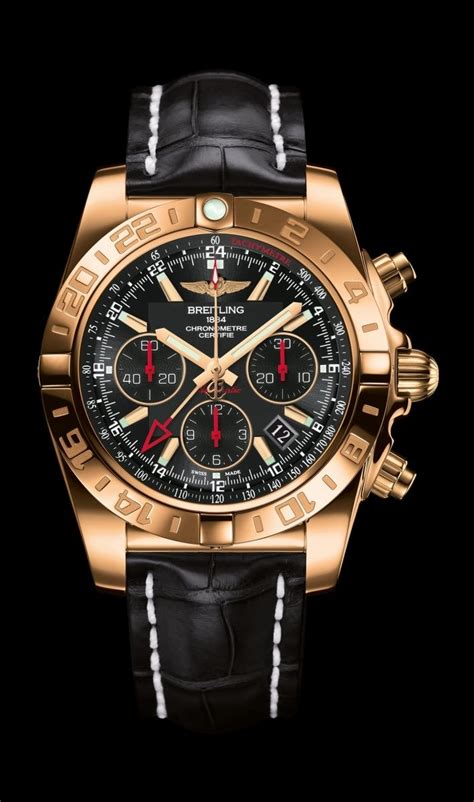 Limited Edition Chronomat 44 GMT traveler's watch by