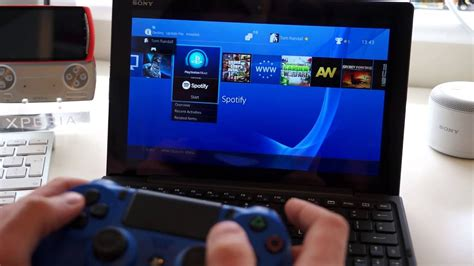 PlayStation 4 Remote Play test on Sony Xperia Z4 Tablet