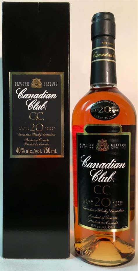 Canadian Club 20-year-old - Ratings and reviews - Whiskybase