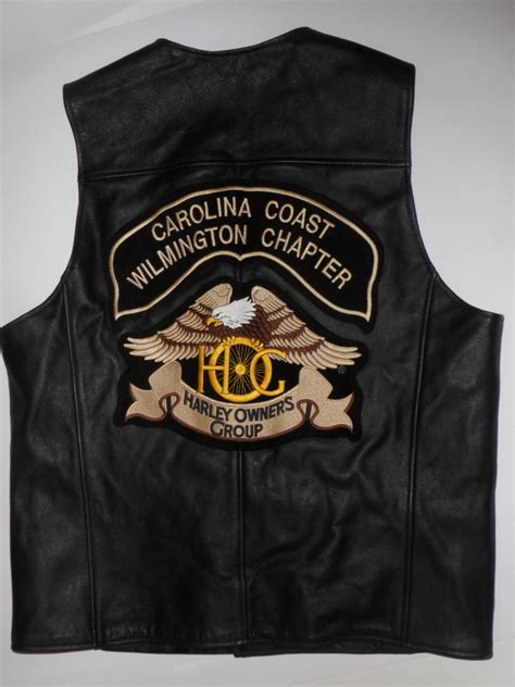 Mens Harley Davidson Leather Vest | Classic Vintage Apparel