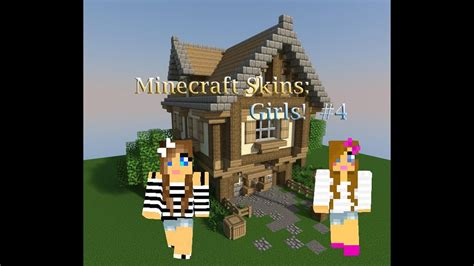 Minecraft Skins Top 10 Girls Skins Series # 4 - YouTube