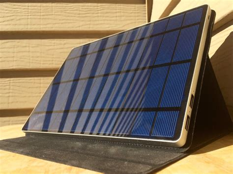 Review: Solartab solar charger is big enough to blot out