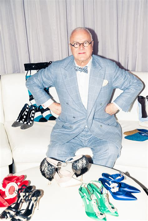 Manolo Blahnik on His Recent Collaborations, Rihanna, and