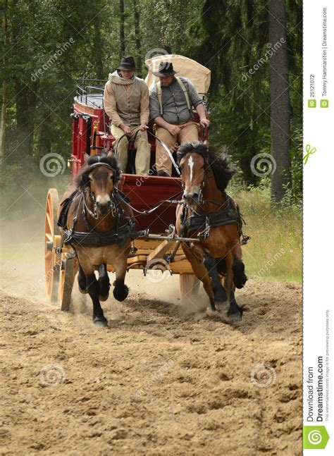 Stagecoach editorial photography