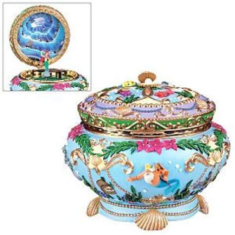 Ariel musical jewelry box from our Other collection