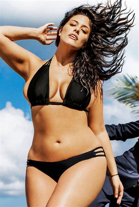 Ashley Graham Plus-Sized Model #curvesinbikinis – Movie Nudes