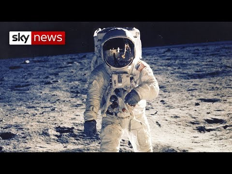 Wallpaper Mission to the Moon, Audi Moon landing project