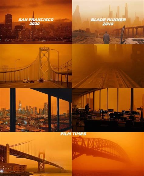 Wildfires Have The Bay Area Looking Like 'Blade Runner