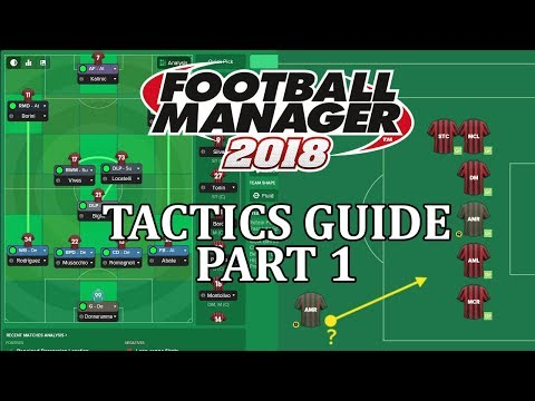 Football Manager 2018 tactics guide: Formations to play