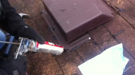 Part 3 - Roof vent install - YouTube