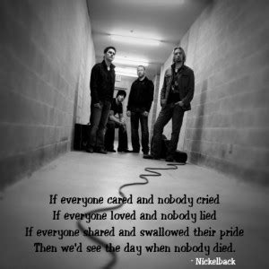 Nickelback Lullaby Quotes