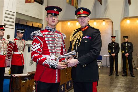 Soldier fresh from operational tour wins prestigious