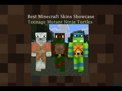 Teenage Mutant Ninja Turtles Best Minecraft Skins Ep #1