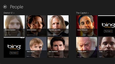 Hunger Games Almanac for Windows 8 and 8