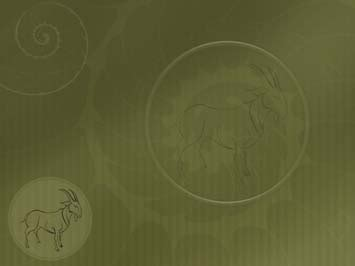 Chinese Zodiac: Sheep 01 PowerPoint Template