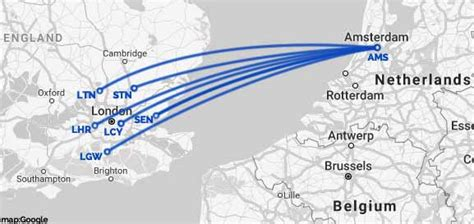 How To Travel Amsterdam to London by Air, Rail, Bus or Ferry