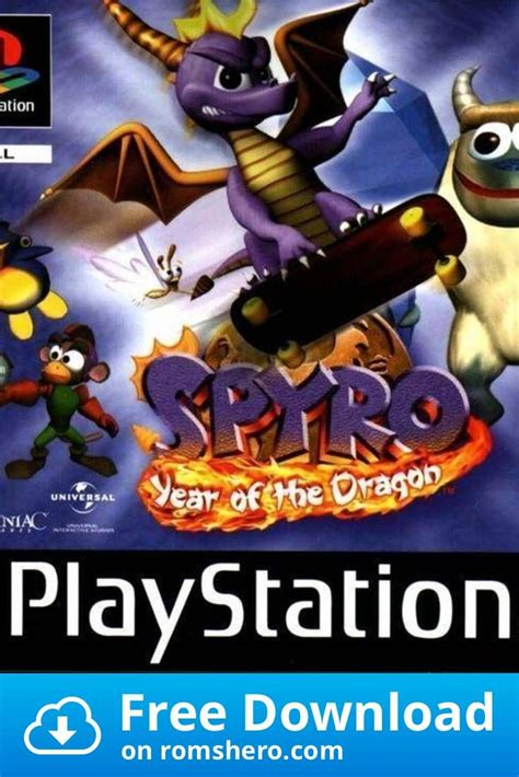Download Spyro The Dragon 3 Year Of The Dragon [SCUS-94467