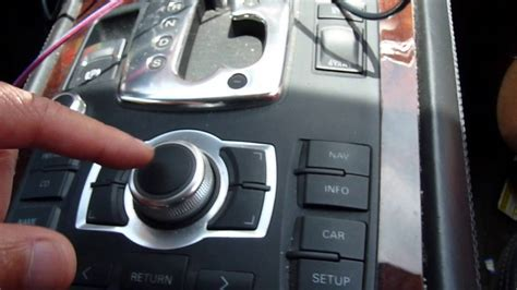 Audi MMI 2G MOST BUS open-circuit test and VCDS read out