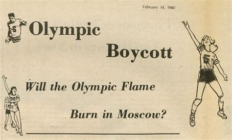 From the Archives: 1980 Moscow Olympic Games - Annandale