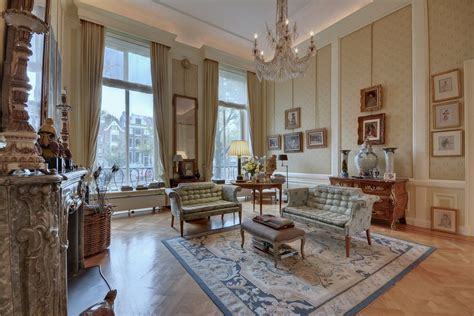 This glorious manse in Amsterdam's famed Canal District