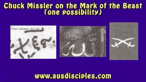 Chuck Missler on the Mark of the Beast 666 - YouTube