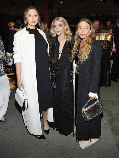 All three Olsen sisters stepped out together at a LACMA