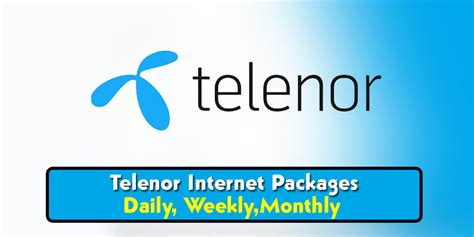 Telenor Internet Packages- Daily, 3 Days, Weekly,Monthly