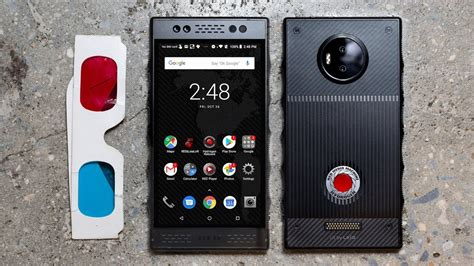 RED Hydrogen One review: a $1,300 mess of a phone - YouTube