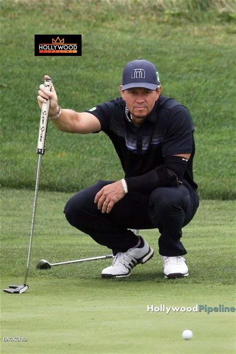 Mark Wahlberg Hits the Course with a Few Friends