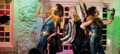 """These first photos of Lily James filming the """"Mamma Mia"""