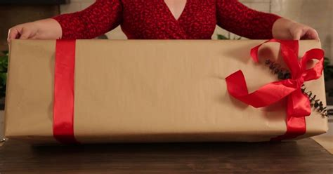 How To Wrap Oversized Gifts So They Look Sophisticated