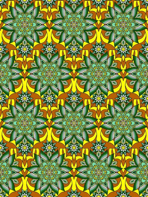 Mandala Pattern Coloring Pages for Adults: Mandalas To