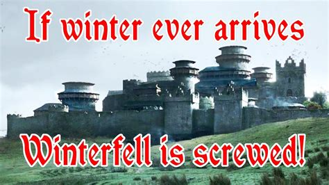 Are the castles in Game of Thrones realistic? - YouTube
