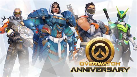 Overwatch Anniversary Event skins: check out images for