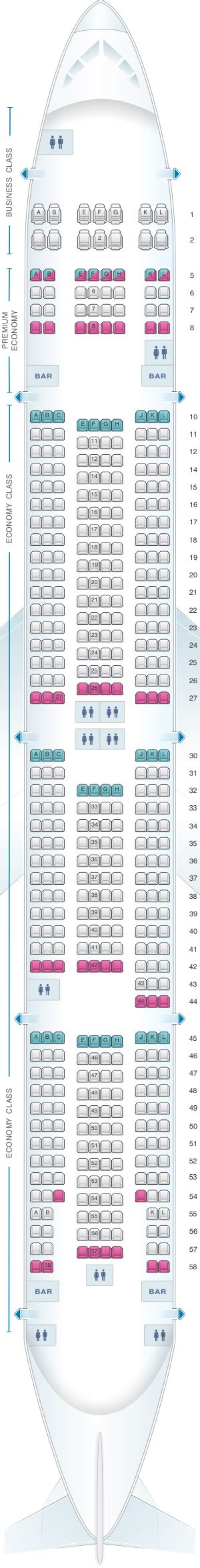 Seat Map Boeing 777 300er Air France | Brokeasshome