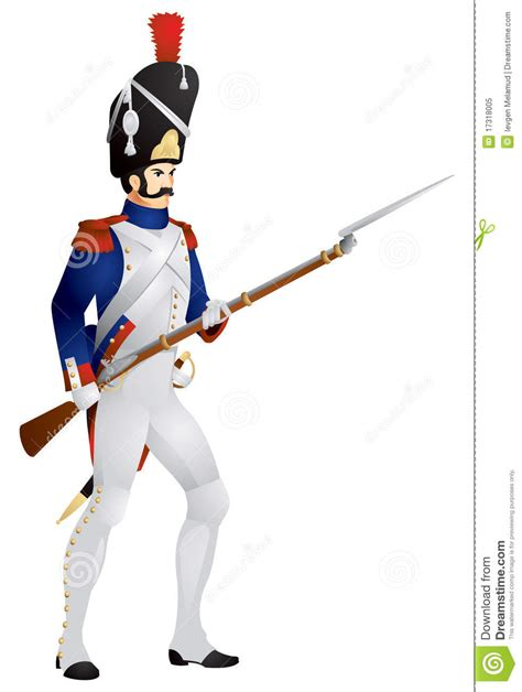 French Old Guard Grenadier In Stock Vector - Image: 17318005