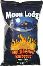 Moon Lodge Hot, Hot, Hot! Barbeque Potato Chips