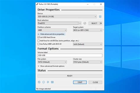 What is Rufus and how to use it to install Windows 10