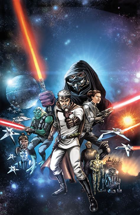 'The Star Wars,' comic book based on George Lucas' 1974