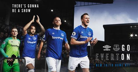Everton FC reveal new home kit - North Wales Live