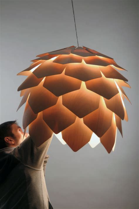 ARCHITECTURE and DESIGN: Pine Cone Pendant 'Chandelier'