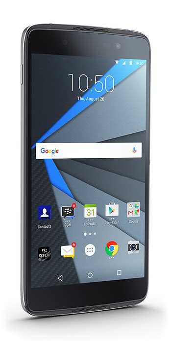 BlackBerry DTEK50 Android phone launches as 'most secure