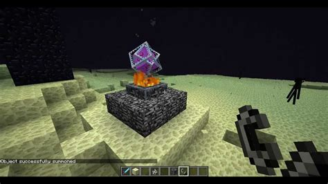 How to get the ender crystal in minecraft w/o any mods