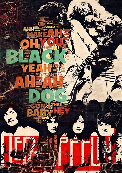 "Led Zeppelin ""Black Dog"" Lyrics 