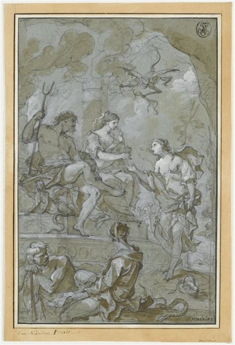 Psyche Welcomed to the Underworld by Pluto and Proserpine