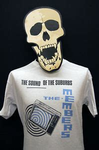 The Members - The Sound of the Suburbs - T-Shirt | eBay