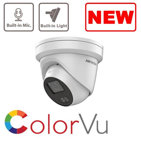 4MP IP DS-2CD2347G1-LU ColorVu Hikvision Fixed Turret