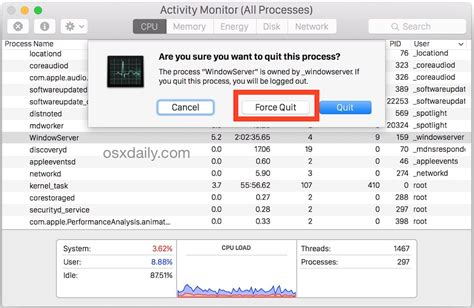 6 Ways to Force Quit Mac Applications